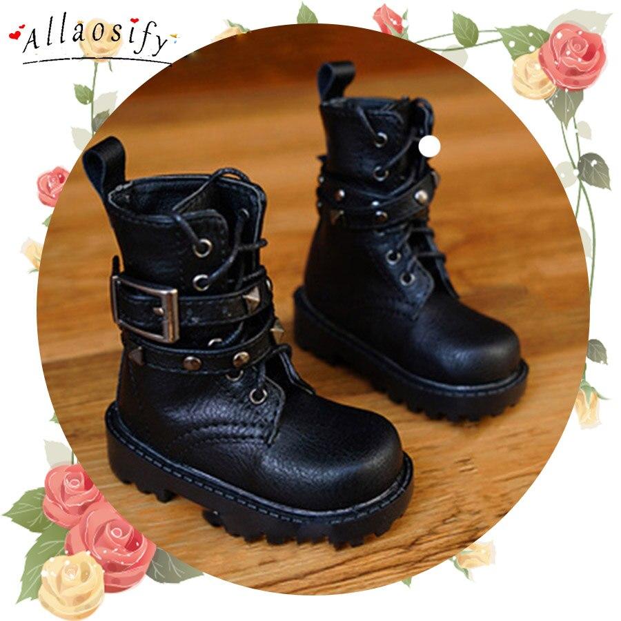 Allaosify BJD shoes 1/3 1/4 leather shoes black brown doll boots free shippingAllaosify BJD shoes 1/3 1/4 leather shoes black brown doll boots free shipping