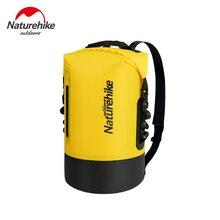 цена на Naturehike Outdoor Swimwear Women Men Waterproof Bag 420D TPU Dry Bag Rafting River Trekking Bags Waterproof Backpack NH18F031-S