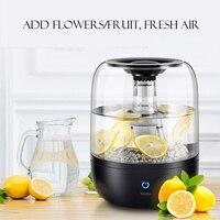 4L большой объем для воды очиститель увлажнитель 220 В ультразвуковой увлажнитель воздуха фруктовый цветок распылитель воды ультразвуковой
