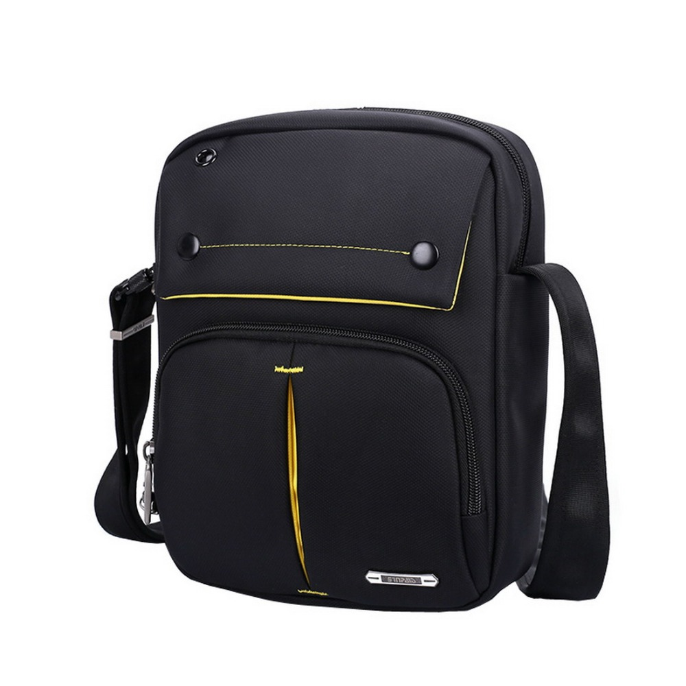 5027756fb52a SINPAID Men s Anti Theft Shoulder Bag Waterproof Crossbody Sling Messenger  High Quality Oxford Material Black Brown   Deep Blue-in Crossbody Bags from  ...