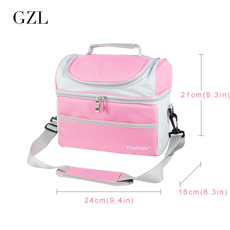 GZL Marmita Thermo Lunch Bags Thermal&Lunch Box for Kid Food bag Picnic Bag Women Handbag Cooler Insulated marmita termic HB0119 20l extra large camouflage cooler bags thermal insulated picnic bag box travel picnic food storage accessories supplies products