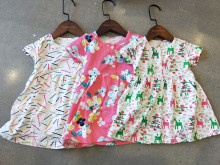 Baby Girl Dress Print Flower Clothing 0-2 Years
