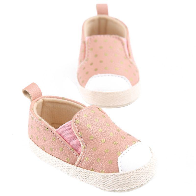 PU Cuero Infantil Niño Polka Dots Cuna Bebe Unisex Niños Niños - Zapatos de bebé - foto 5