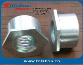 SO-M3-8 , Thru-hole Threaded Standoffs,Carbjon steel,zinc,PEM standard,made in china,in stock.
