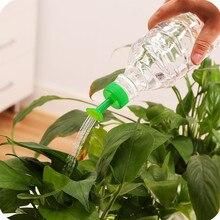 Пластиковый домашний горшок, бутылка для полива, банки для воды, маленькие насадки для разбрызгивателя, для цветочных горшков, растений, комнатных водонагревателей, случайный цвет