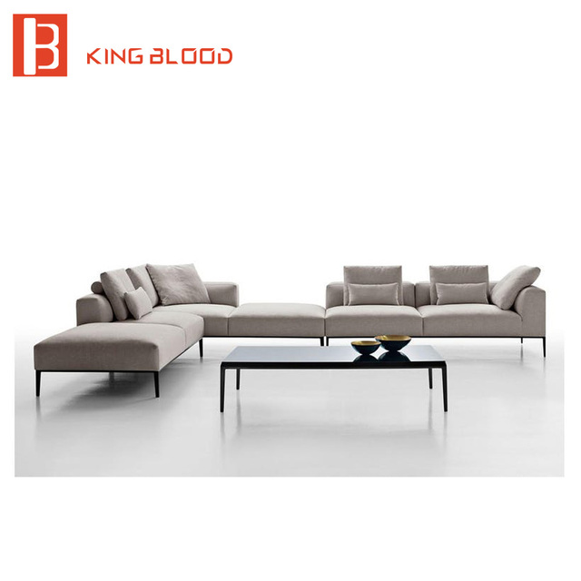 Living Room Furniture Guangdong Latest 6 Seater Sofa Set Designs