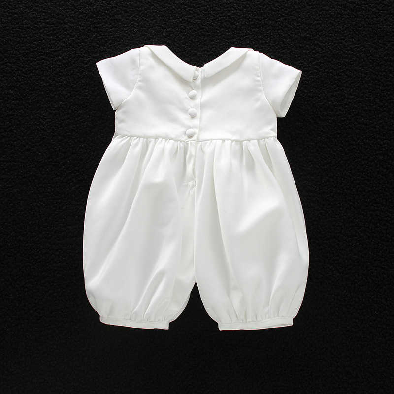 225af77d4 Detail Feedback Questions about Baby Boy Christening Baptism Romper ...