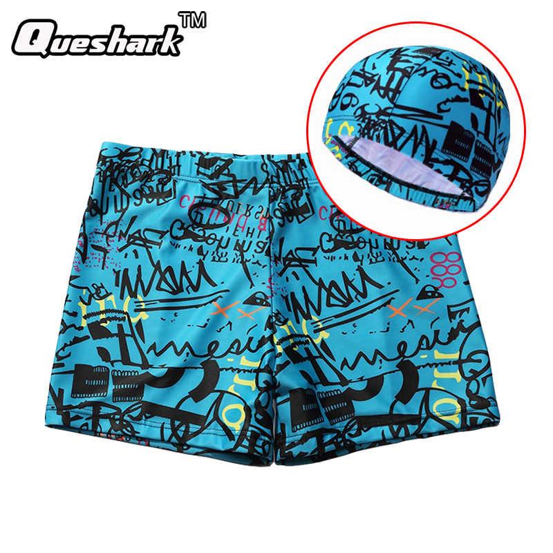 Detail Feedback Questions about 2018 Printing Swimming Boxer Shorts Men  Swim Trunks Board Shorts Hot Spring Elastic Sexy Beach Swimwear Hats Swim  Shorts+Cap ... 6e3bb0161