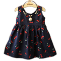 2-11 Ages Baby Girl Dress Summer Kids Teenagers Sleeveless Cotton Dresses Clothes For Girls 2016 Children Toddler Vestidos