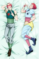 Anime japonés Hunter x Hunter Hisoka Csai masculino funda de almohada grande funda de cama fundas de almohada Dakimakura