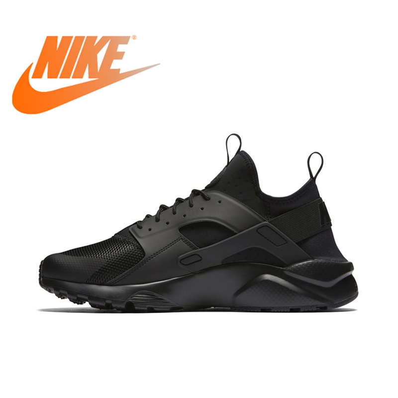 Original Official NIKE AIR HUARACHE RUN ULTRA Men's Running Shoes Sneakers 819685 Outdoor Ultra Boost Athletic Durable 819685 original new arrival official nike air huarache run ultra men s running shoes sneakers 819685 outdoor ultra boost athletic