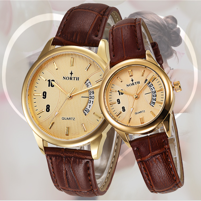 Reloj Mujer Top Brand Luxury Couple Watches Men Women Date -2285