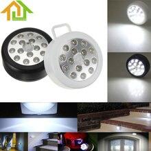 Linterna portátil Negro/Blanco de La Lámpara 15 LED Auto PIR Inalámbrico Sensible Sensor De Movimiento Infrarrojo Luz de La Noche