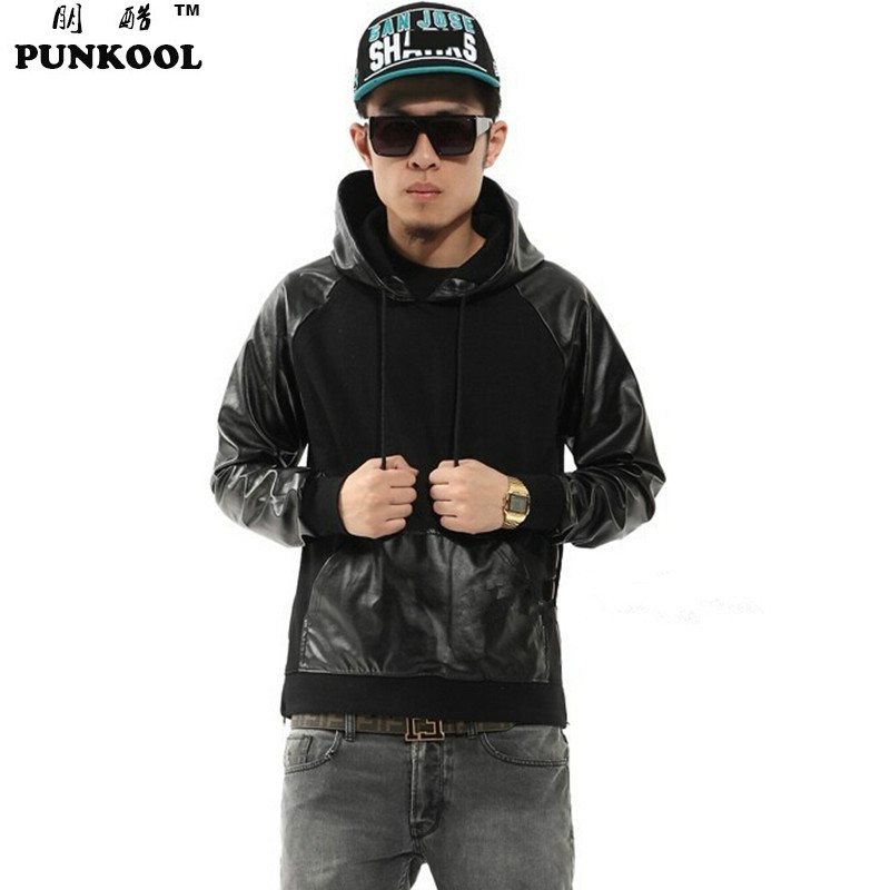 Compare Prices on Leather Pullover Hoodie- Online Shopping/Buy Low ...