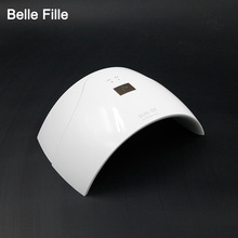 BELLE FILLE UVLED SUN5Q Nail Dryers 24W Professional UV LED Lamp Nail Dryer Polish Machine for Curing Nail Gel Art Tools
