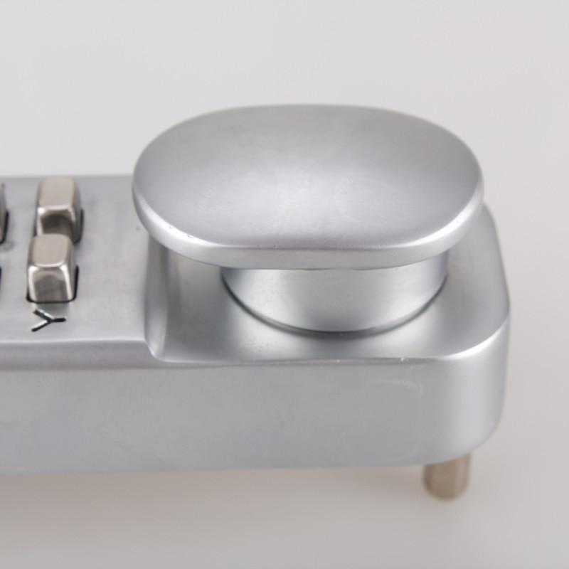 Baseball bat Digit Coded Combination Lock for Car Steering Wheel Anti theft Password combination steering wheel lock - 3
