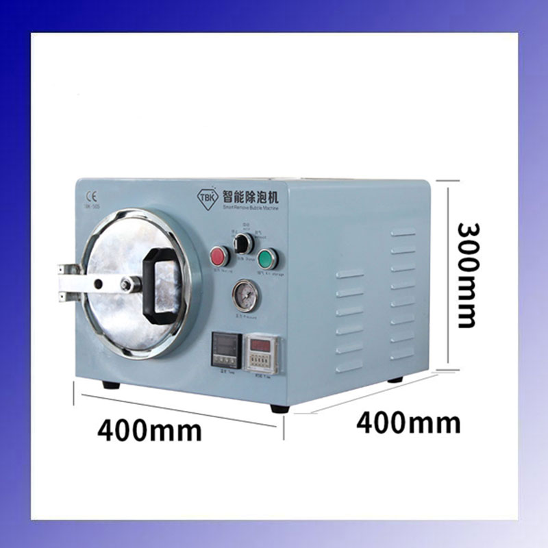 TBK-505 2 in 1 Intelligent Built-in Vacuum Pump for Mobile Phone Refurbishment Removing Bubble Machine 550w 1380r min 8l air compressor for air bubble removing mobile lcd screen refurbishment repairing machine