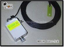 1 antenne dextrémité K4EDF, antenne à ondes courtes à quatre bandes, antenne à ondes courtes HAM, antenne de réception à ondes courtes SDR
