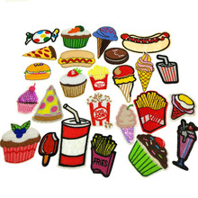 25pcs random assorted Iron-on or Sew-on Embroidered patch Motif Applique