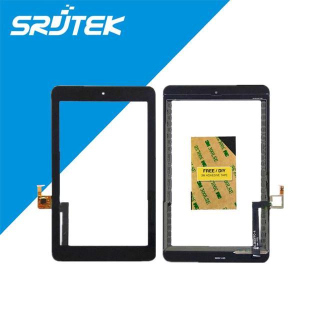 Tela de toque digitador substituição do vidro da tela para alcatel one touch pop 7 p310 p310a p310x frete grátis