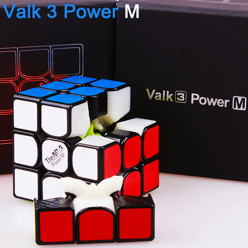 QIYI The Valk 3 power M magnetic Magic Speed Cube 3x3x3 Professional Valk3 Magnets Puzzle Cube MOYU Neo Cubo Magico Toy For Kids