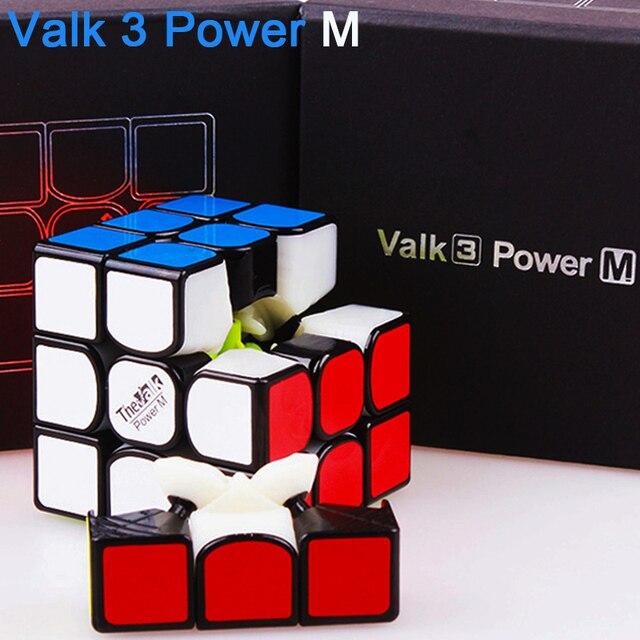 QIYI el Valk 3 potencia M Cubo de velocidad mágico magnético 3x3x3 imanes profesionales Valk3 Cubo de rompecabezas juguete Magico MOYU Neo Cubo para niños