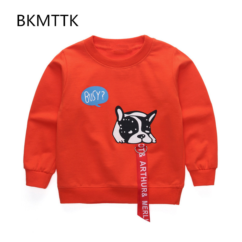 2017 spring and autumn new childrens long sleeved t-shirts for boys and girls, all cotton long sleeved t-shirts