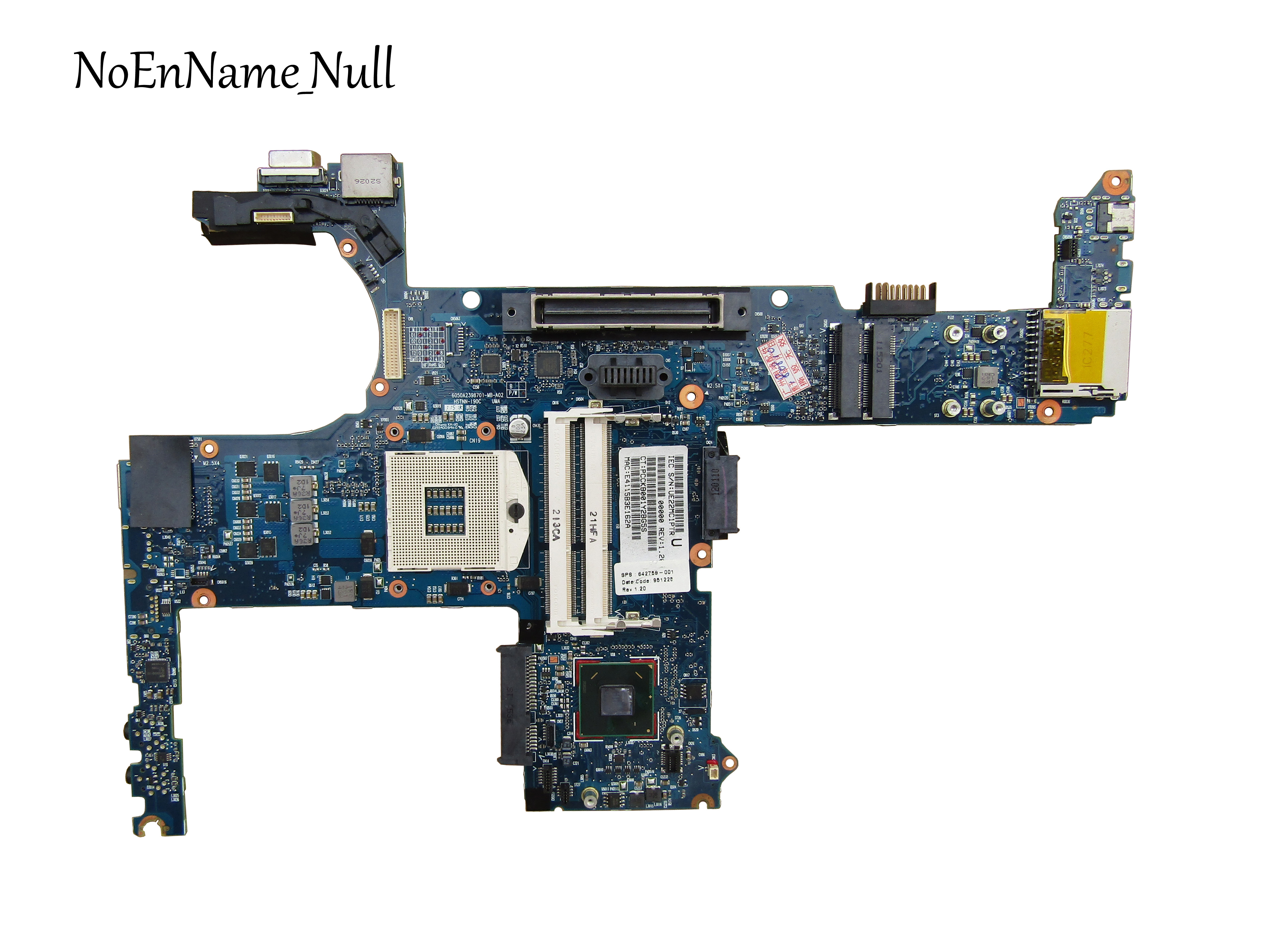 642759-001 para HP EliteBook 8460p Notebook para HP 8460P laptop motherboard Intel para QM67 chipset 100% completo testado ok