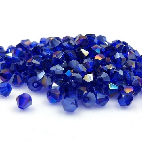 Новинка 5301 4 мм 1000 шт стеклянные кристаллы бусины биконус граненый свободный разделитель бисер бусины Fantas AB DIY Изготовление ювелирных изделий U выбор цвета - Цвет: 211