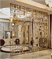Декоративный Внутренний Металл разделительные панели стены/архитектурные металлические экраны золото Vanish/Artisan из нержавеющей стали экран ...