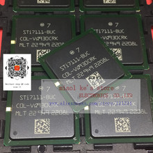 100% NEW; STI7111 BUC STI7111BUC STI7110FTAUC STI7111 BGA   Both models have stock in stock.Can be used instead of each other。