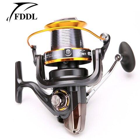 fddl molinete full metal carretel 13bb lj3000 8000 9000 bobina carretel de pesca carpa de