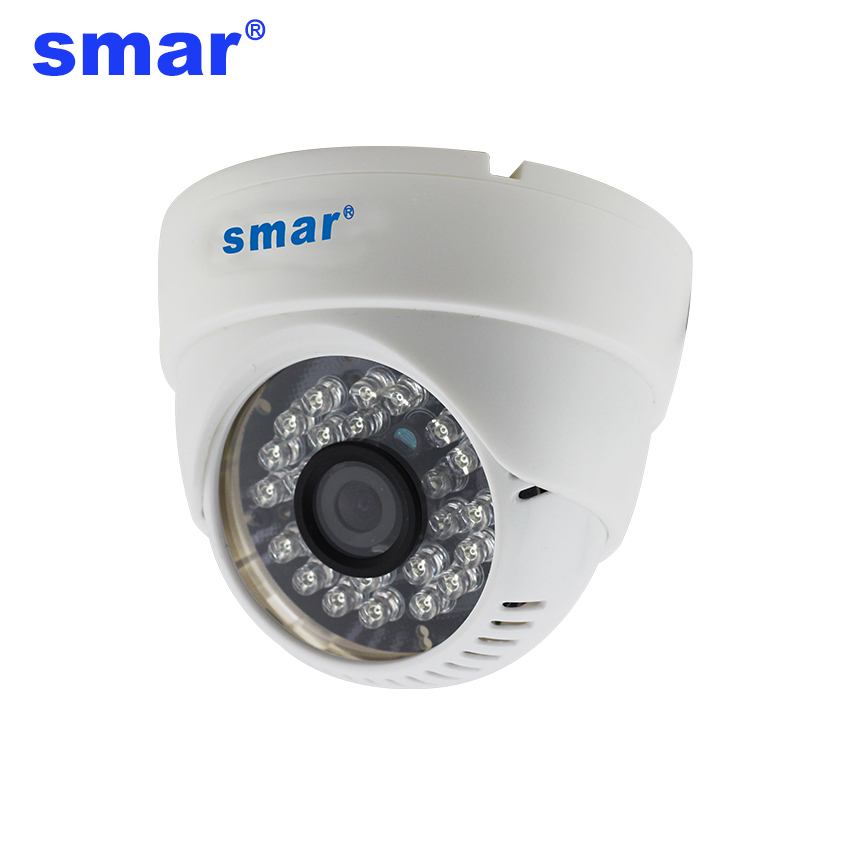Smar 720P IP Camera Support Audio with External Microphone Pickup Dome Camera Surveillance Video IP Camera IR Cut new audio ip camera video surveillance security cctv camer network ir dome ip cam with external microphone
