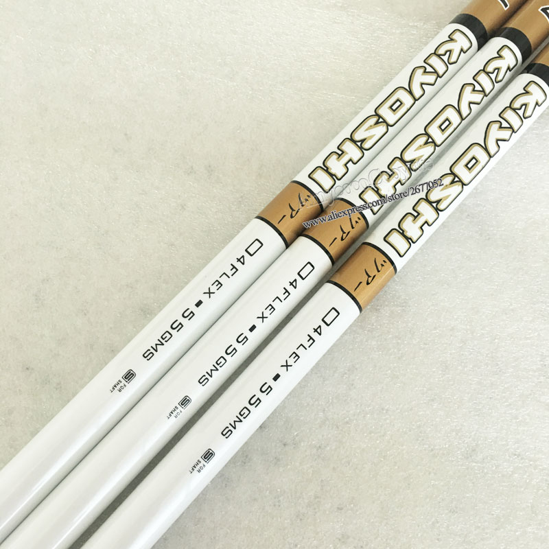 Wholesale New Golf Drivers Shaft OBAN WHITE Graphite Golf Shaft 04 S Flex 3pcs/lot Clubs Wood Shaft Free Shipping