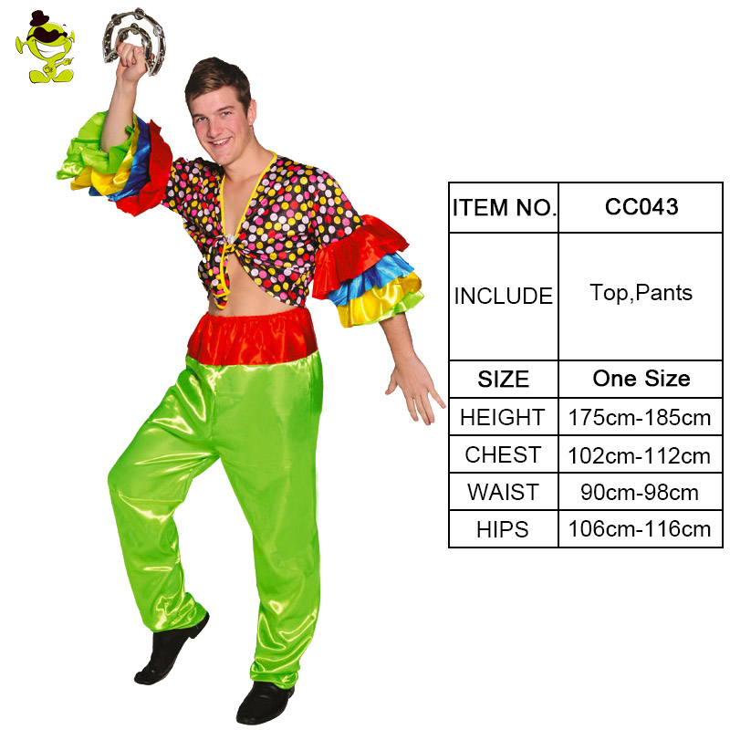 Details about Funny Adult Men Rumba Dance Costume Carnival Hippie Costumes  Party Dress 8adea808e9aa