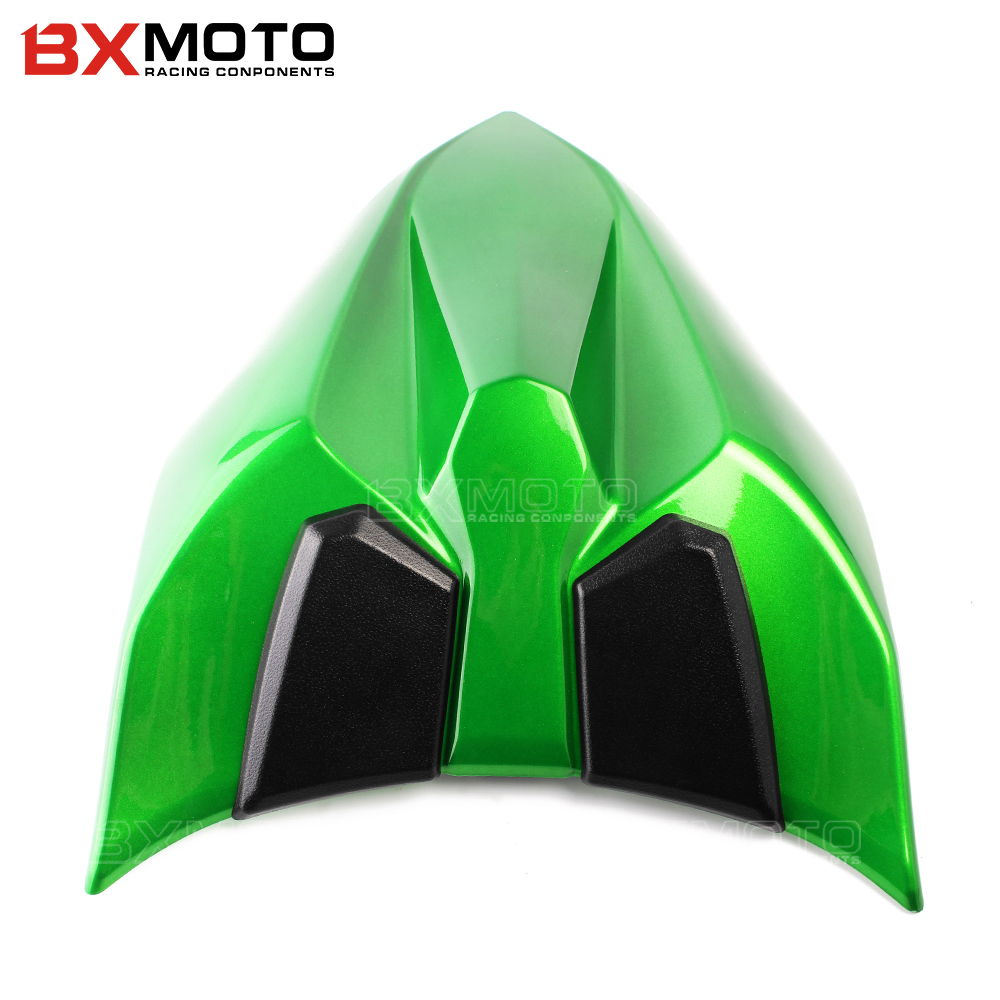 motocross Z650 2017 For kawasaki Motorcycle ABS Plastic Unpainted Rear Seat Cover Fairing Cowl For Kawasaki ninja 650 Z650 2017 bjmoto motorcycle front brake fluid reservoir cap for kawasaki z800 z900 z650 er6n f versys650 ninja 650