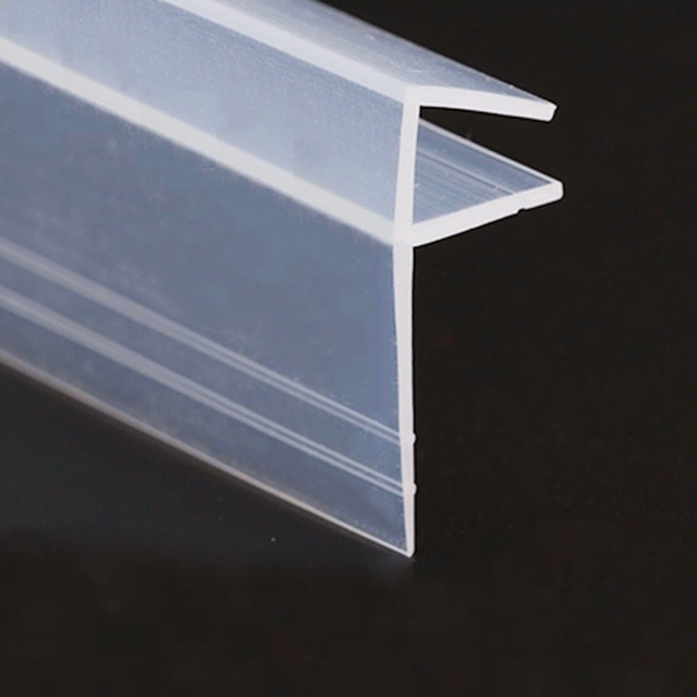 Draught Excluder Strip Weatherstrip Draft Stopper 8mm Glass Screen