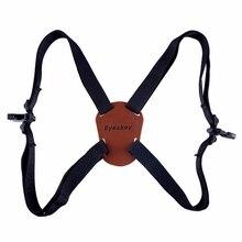 X Shaped Harness Strap Adjustable Binoculars Carrier Elastic Durable Shoulder Straps Optics Accessories For Binocular