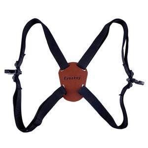 Image 1 - X Shaped Harness Strap Adjustable Binoculars Carrier Elastic Durable Shoulder Straps Optics Accessories For Binocular