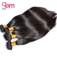 Indian Straight Human Hair Weave Bundles 1PC 10