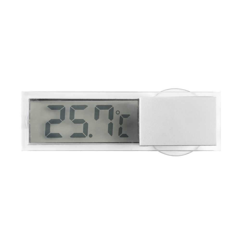Suction Vehicle Digital LCD Display Car Windshield Rear View Mirror LCD Digital Temperature Meter Thermometer Auto  Newest
