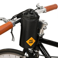 Sport Water Carrier Pouch Portable Cycling Handlebar Kettle Bag Bike Handlebar Stem Bag Bicycle Accessories