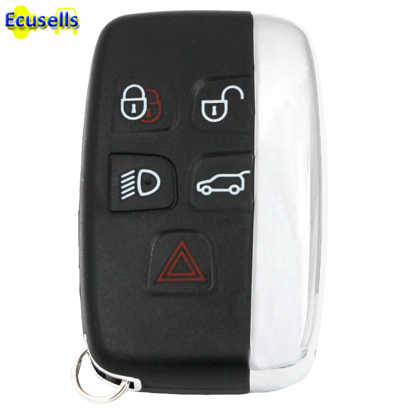 Range Rover Key Case Replacement 5 Button Sport Vogue Evoque Smart Remote Shell
