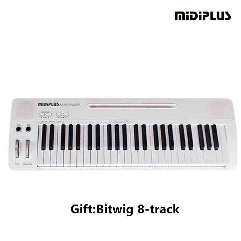 MIDIPLUS Easy Piano 49Key voice midi Keyboard controller For IPAD/PC/MAC  Electronic Piano Keyboard