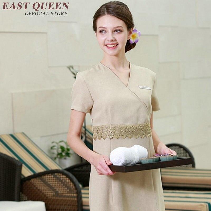 Wholesale uniform for font b beauty b font salon service center work wear uniform beautician uniforms