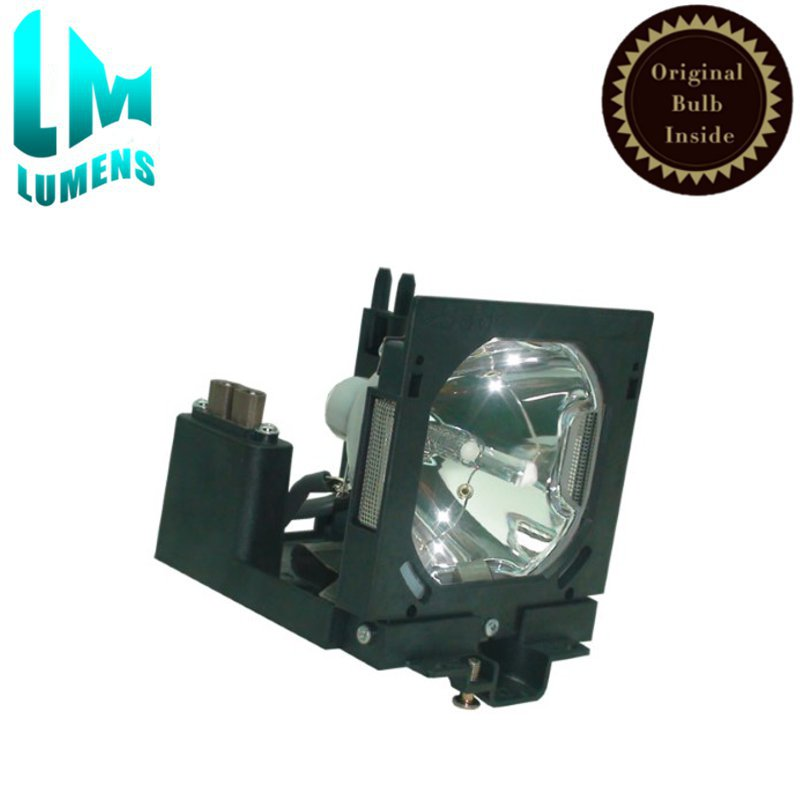 Original POA-LMP80 projector lamp bulb with housing for SANYO PLC-EF60 PLC-XF60/ Eiki LC-SX6 LC-X6/ Christie LS+58 LX66 LX66A poa lmp18 610 279 5417 for sanyo plc xp07 plc sp20 plc xp10a plc xp10ba plc xp10ea plc xp10na projector bulb lamp with housing