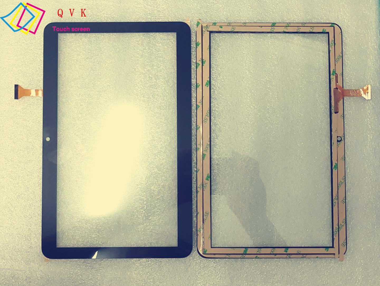 Negro 10,1 pulgadas para Irbis TZ175 TZ176 TZ177 TZ178 3G tablet pc pantalla táctil capacitiva panel libre