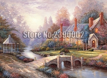 Full DIY Diamond Painting Peaceful Autumn Fall Cabins Houses Cross Stitch Diamond Embroidery Decoration Mosaic Home Decor Gifts cabins