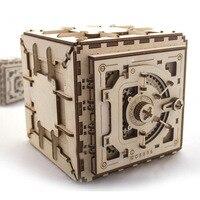 3D деревянные головоломки творческий DIY лазерной резки механическая модель игра деревянная головоломка сборки игрушка в подарок для детей п
