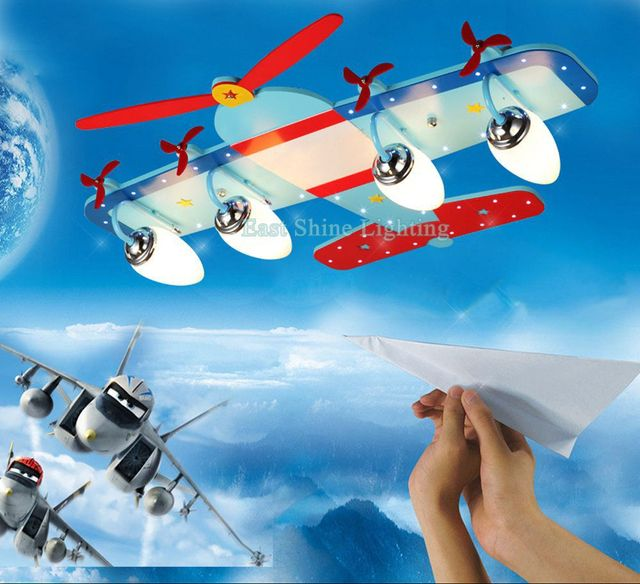 Modern cute childrens bedroom airplane designing mdf led ceiling modern cute childrens bedroom airplane designing mdf led ceiling light kids room decorative ceiling lamp fixture aloadofball Images